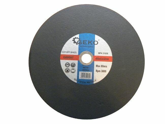 Řezný kotouč na ocel, 400x4x32mm, GEKO