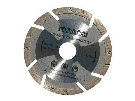 Kotouč diamantový řezný, 115x22mm, GEKO
