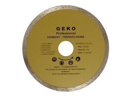 Kotouč diamantový řezný, 125mm, GEKO