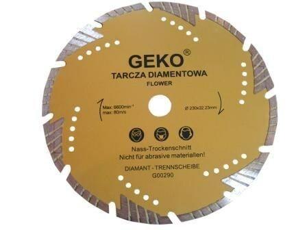 Diamantový řezný kotouč, 230x22mm GEKO