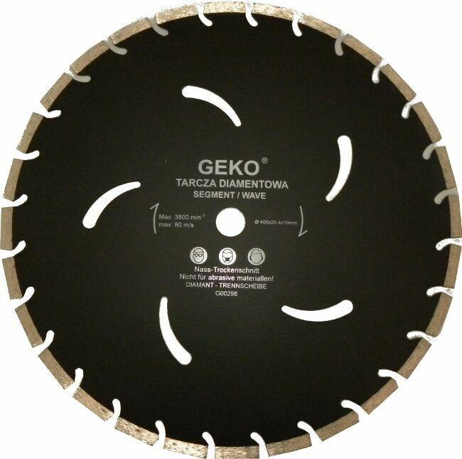 Diamantový řezný kotouč, 400x10x32mm, GEKO