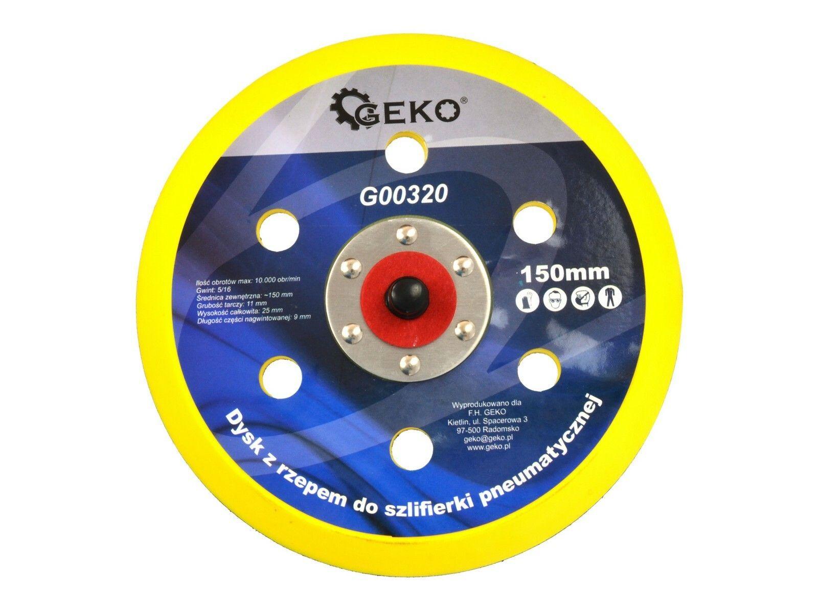 Kotouč na suchý zip pro pneumatickou brusku 150mm GEKO G00320