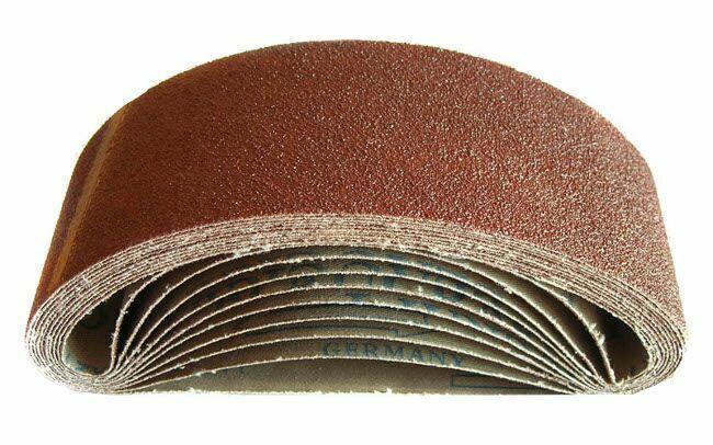 Plátno brusné nekonečný pás, 75x457mm, P24 GEKO