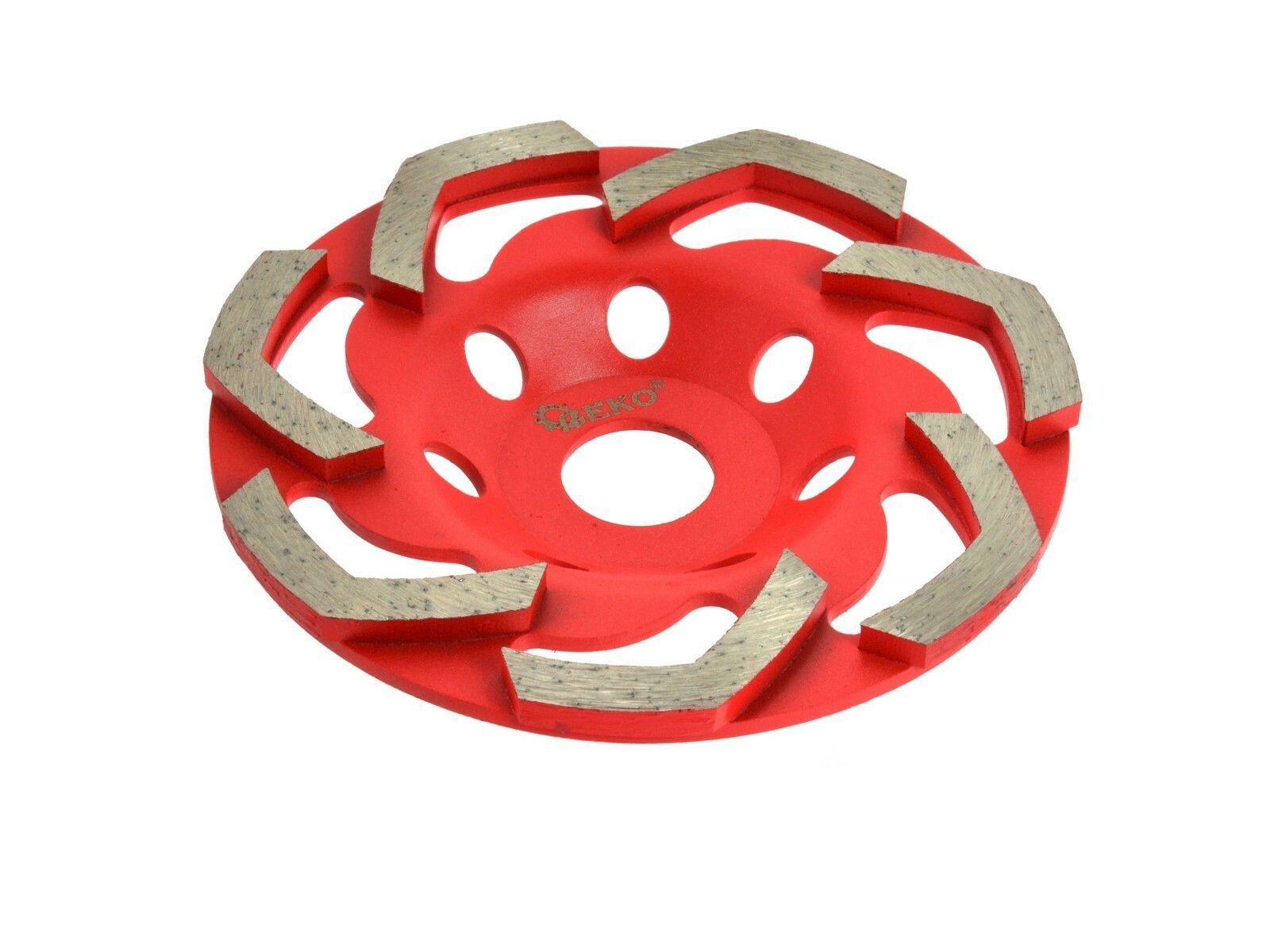 Diamantová kotouč na broušení betonu RED 125mmx5mm GEKO