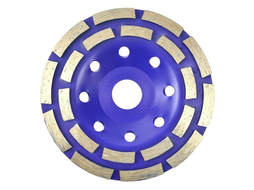 Kotouč diamantový brusný dvouřadý, 125x22,23mm GEKO