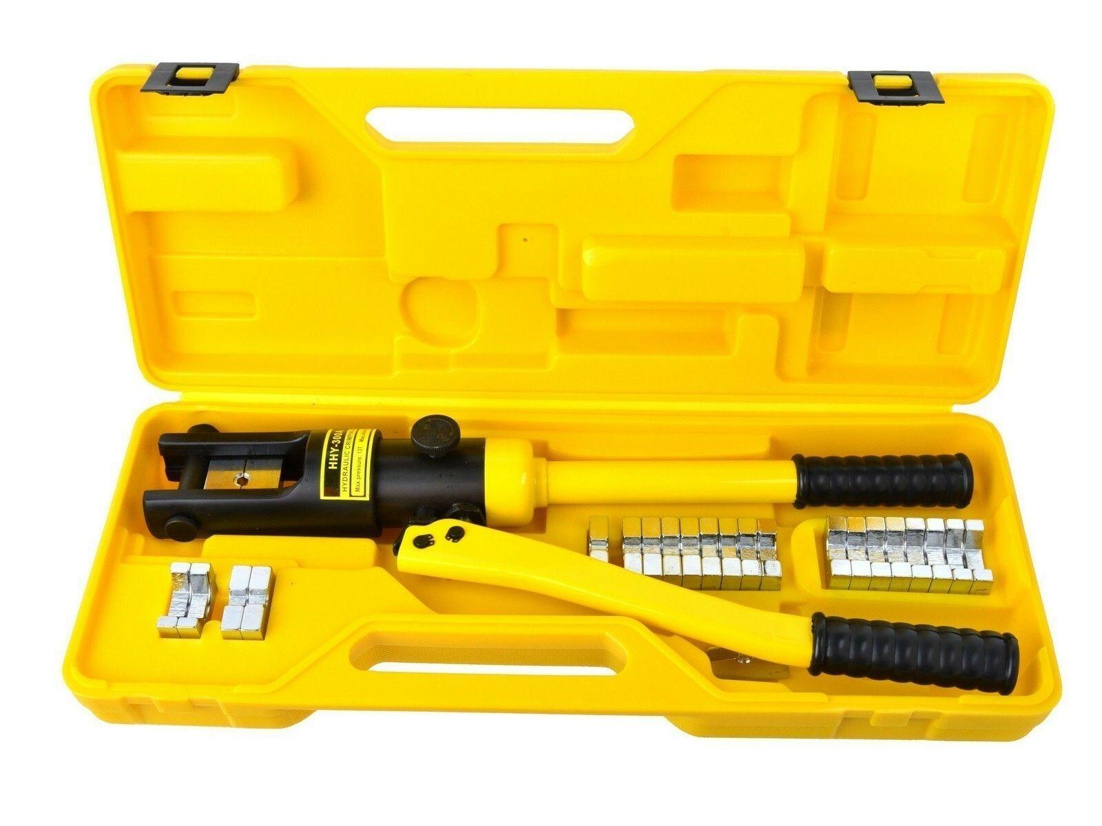 Krimpovací nářadí na kabely, hydraulické, 18 t, 10-300 mm2 GEKO