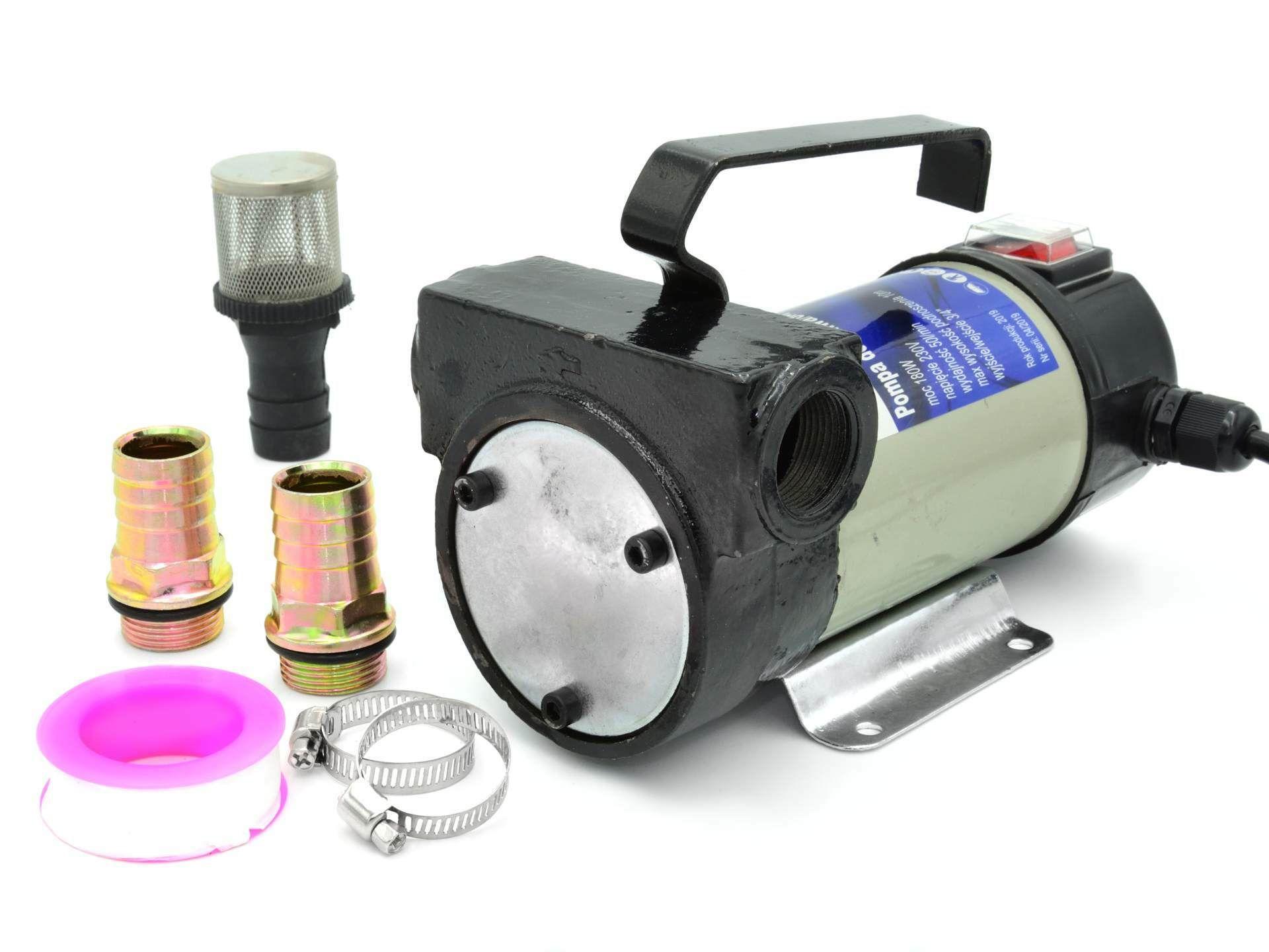 Palivové / olejové čerpadlo 230 V GEKO