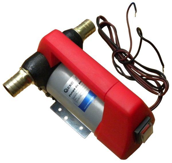 GEKO G00945 samonasávací čerpadlo na naftu, 12V, 155W, 40l/min, plastová rukojeť