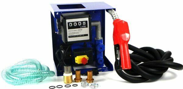 GEKO G01023 Naftová čerpací stanice s počítadlem 600W 230V, samonásávací