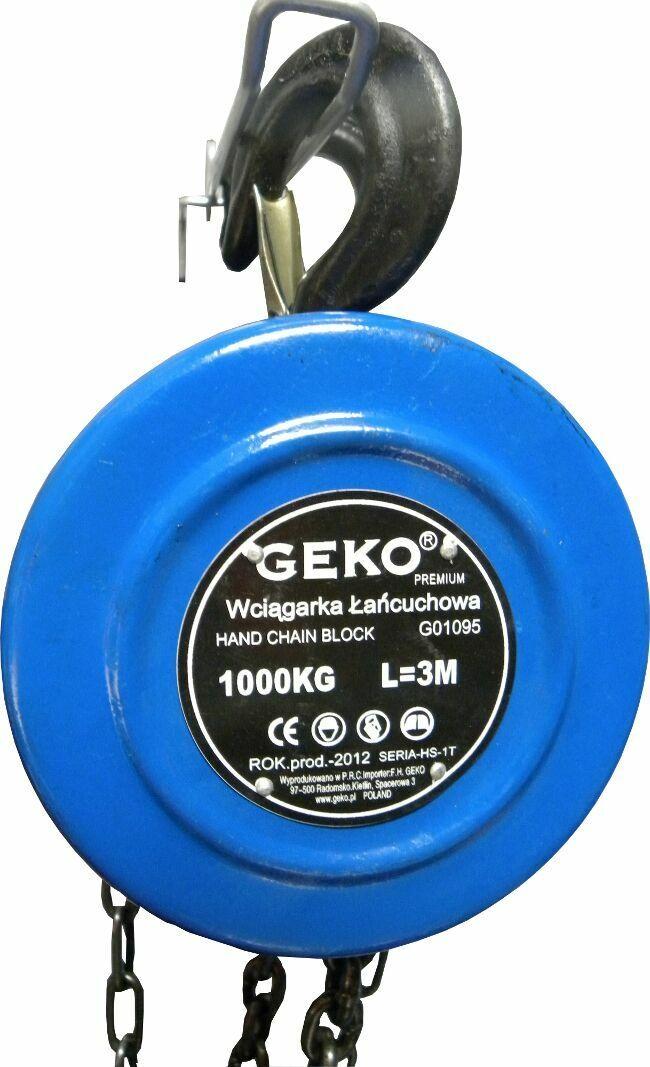 Kladkostroj řetězový 1000kg GEKO