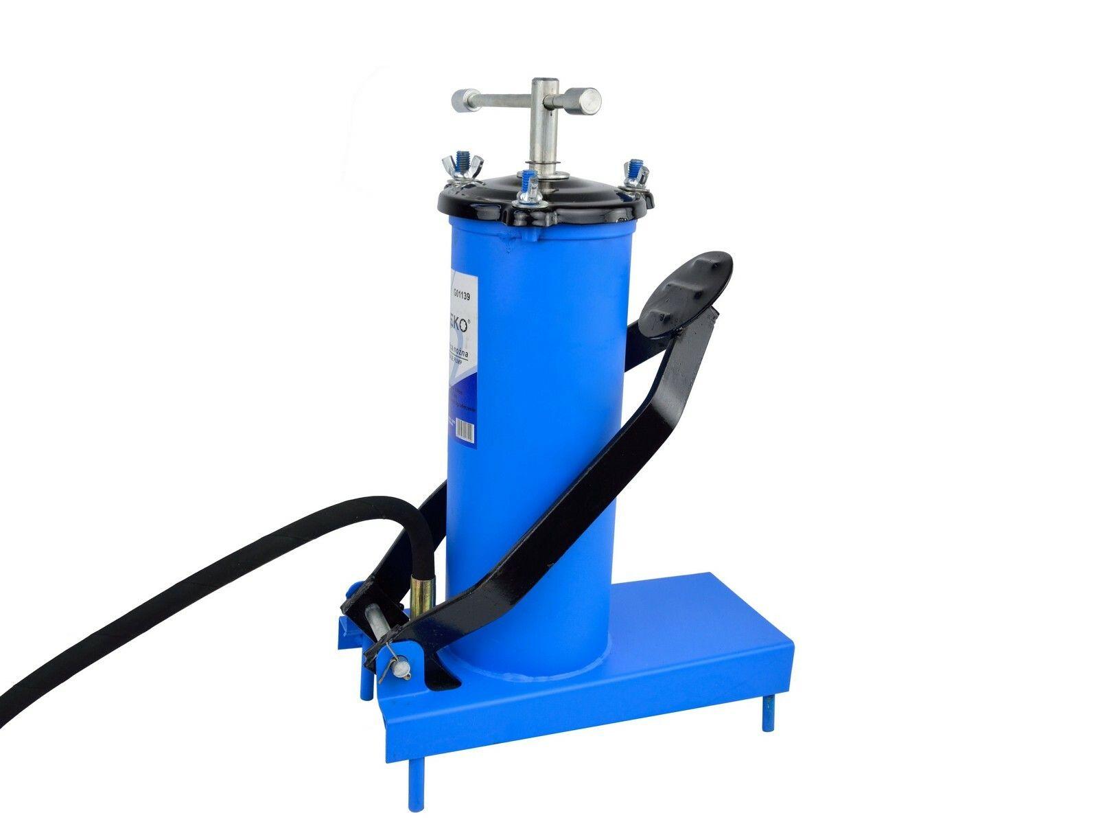 GEKO G01139 Vzduchové čerpadlo na maziva, kapacita 3l, hadice 4m