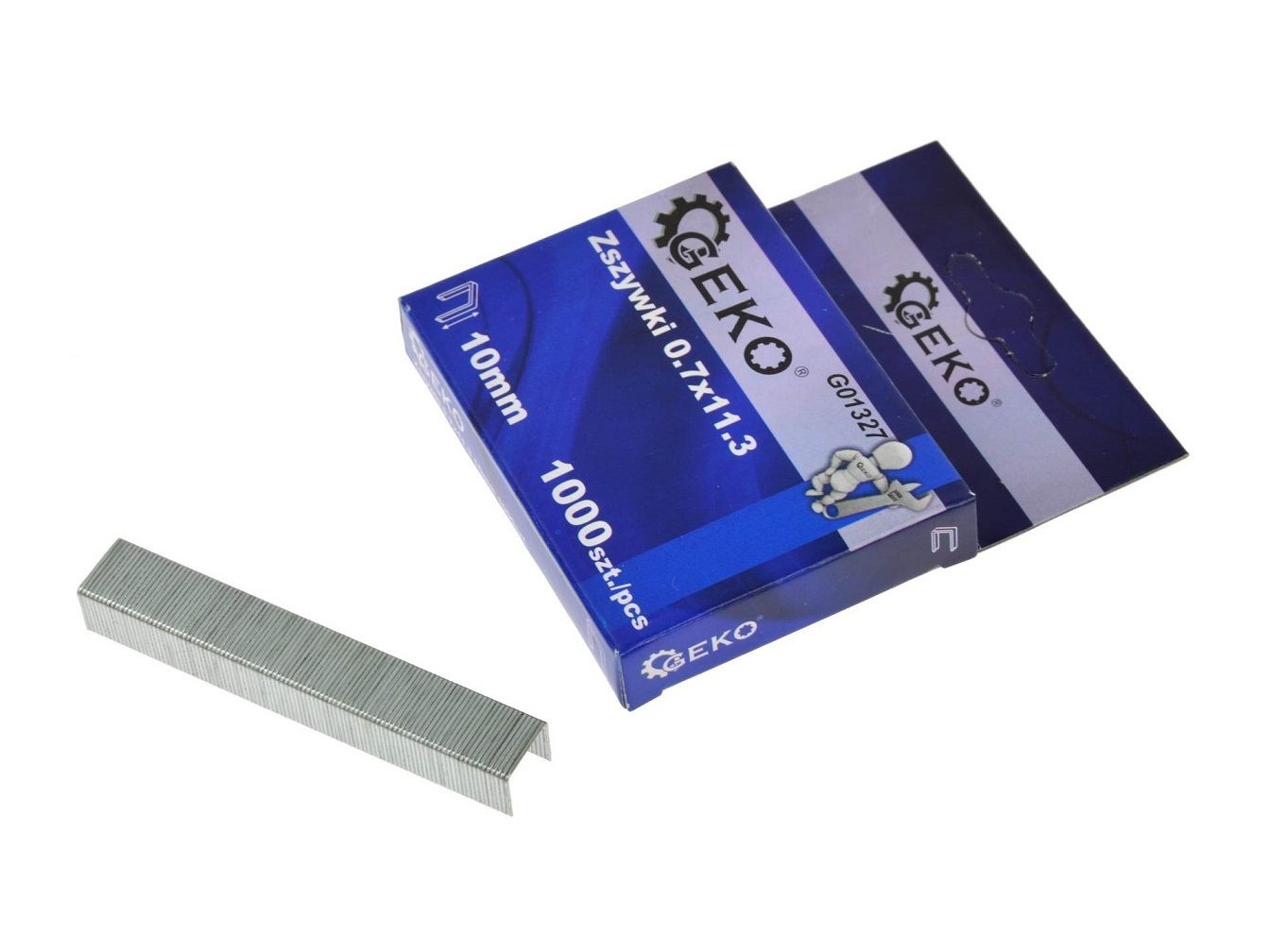 Sponky do sešívačky 0,7x11,3 10mm 1000 ks GEKO
