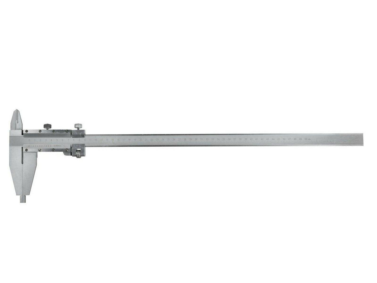 Měřítko posuvné kovové, 0-500mm x 0,05, GEKO