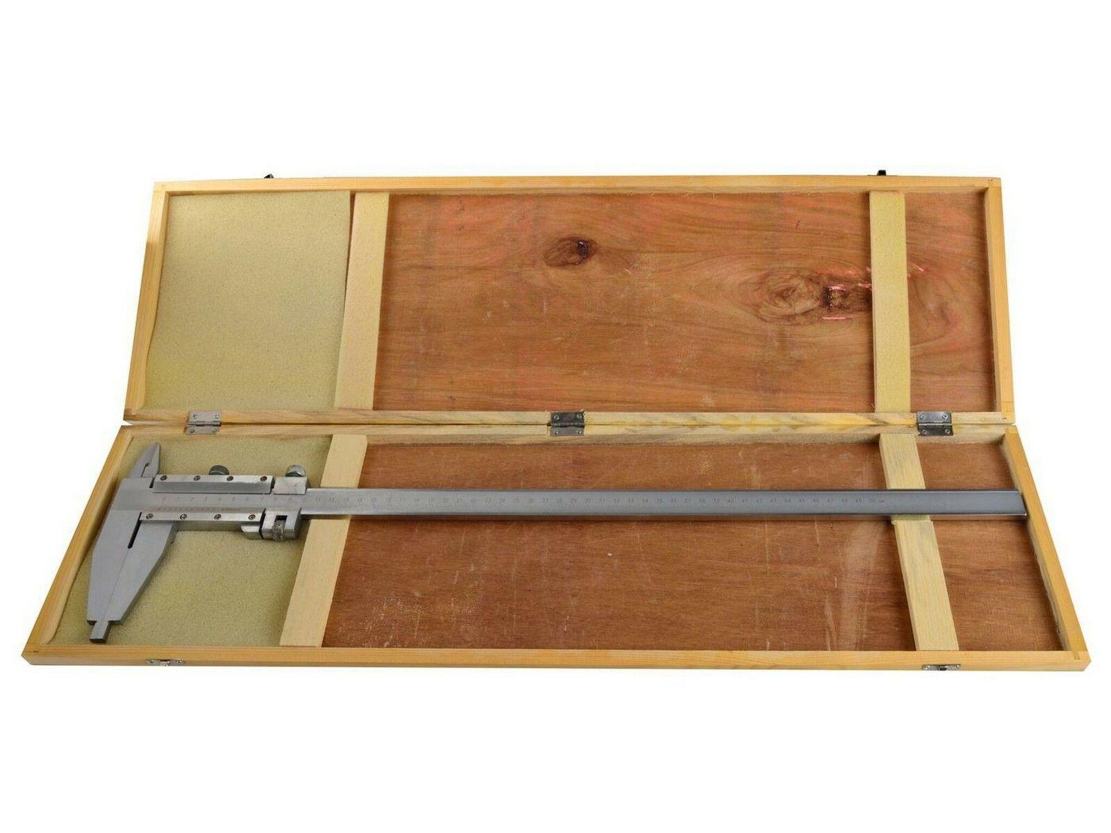 Měřítko posuvné kovové, 0-500mm x 0,05 GEKO
