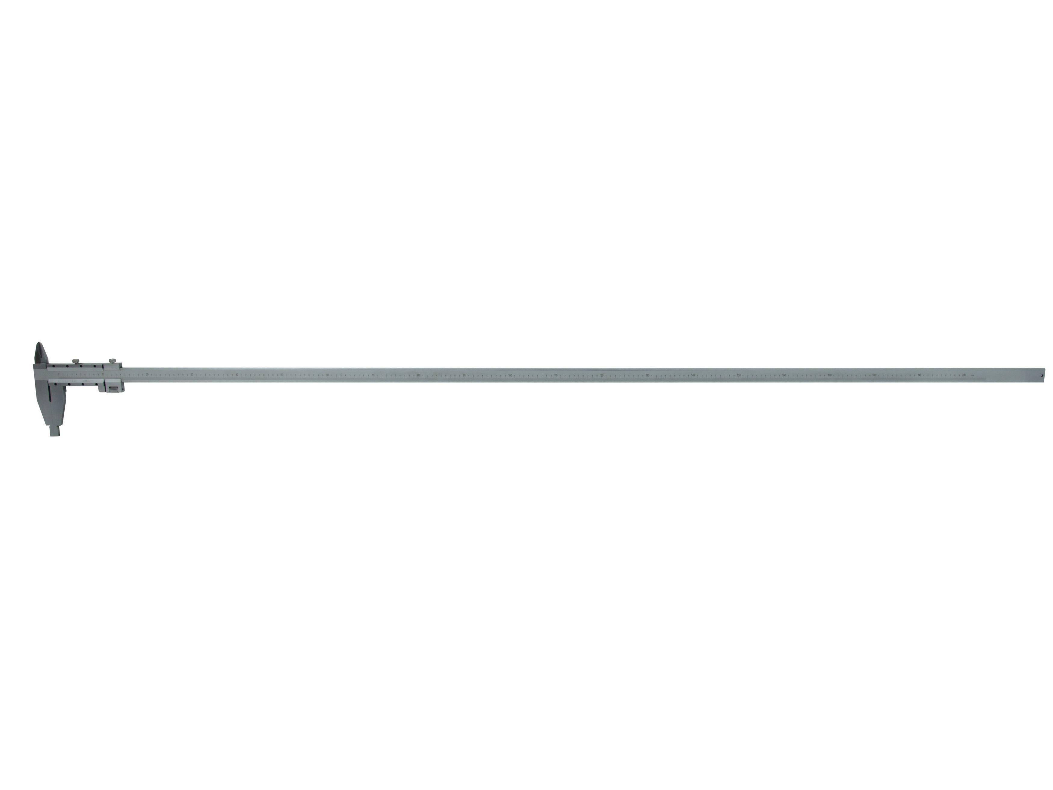 Měřítko posuvné kovové, 0-2000mm x 0,05, GEKO