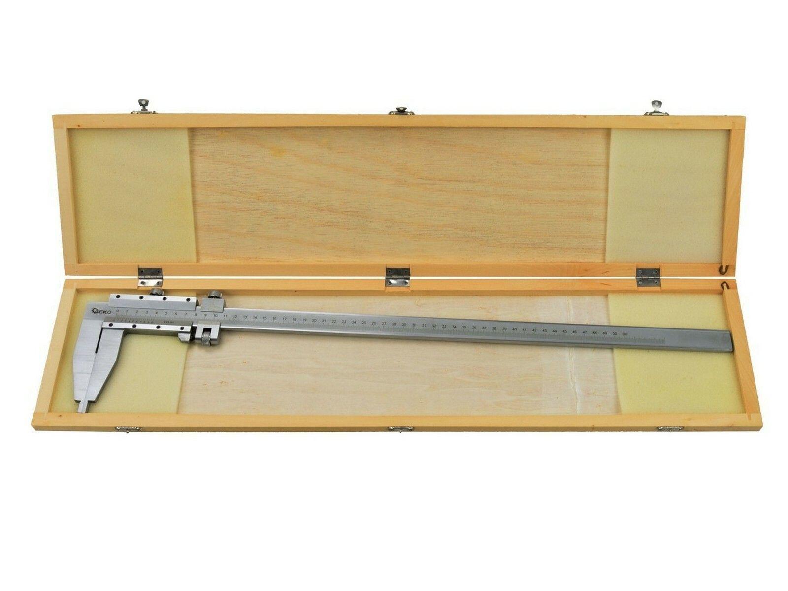 GEKO G01495 Měřítko posuvné kovové, 0-500mm x 0,05