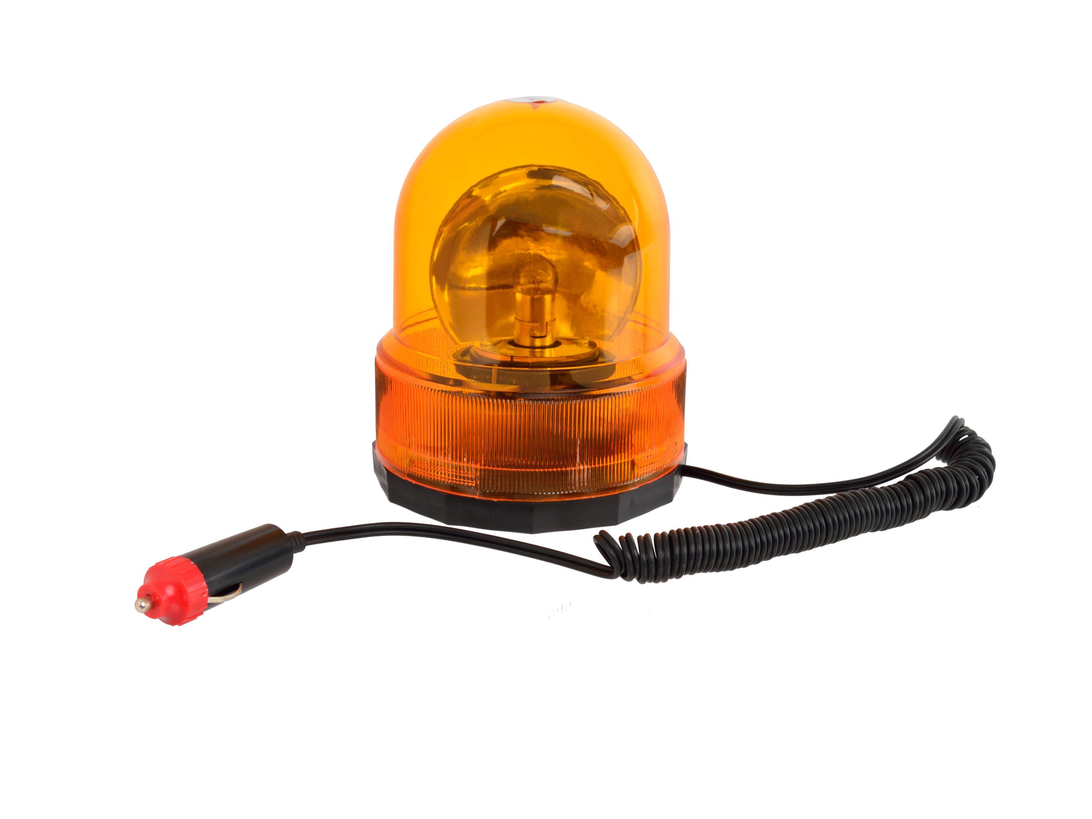 GEKO G01830 Oranžový maják, B 24V