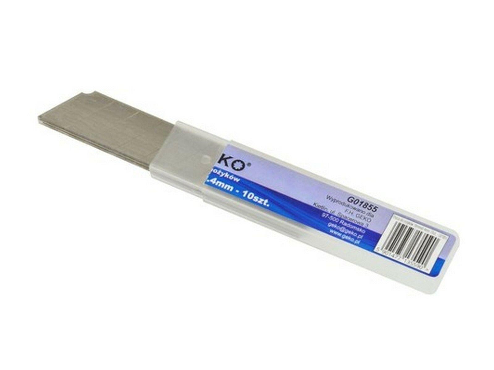 Břity ulamovací do nože, 18 mm, 10ks GEKO