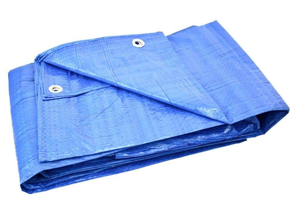 Plachta nepromokavá STANDARD modrá, 4x8m, GEKO