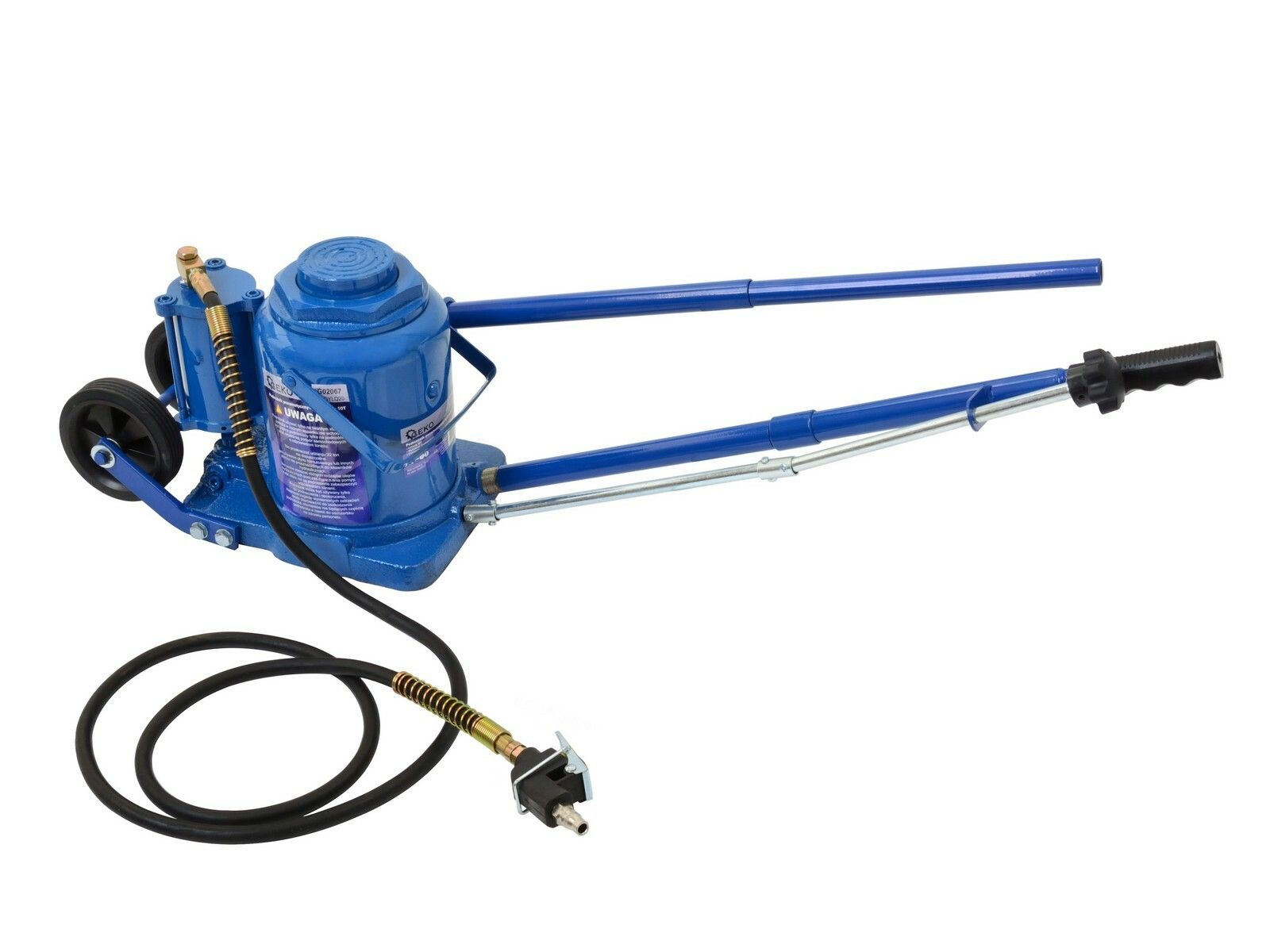 Zvedák hydraulicko-pneumatický 50 tun GEKO