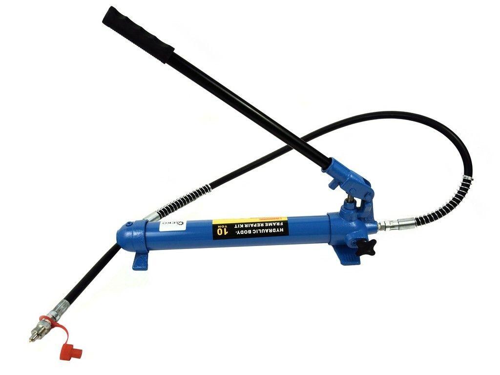 GEKO G02071 Ruční hydraulická pumpa 10T, pro hydraulický rozpínák