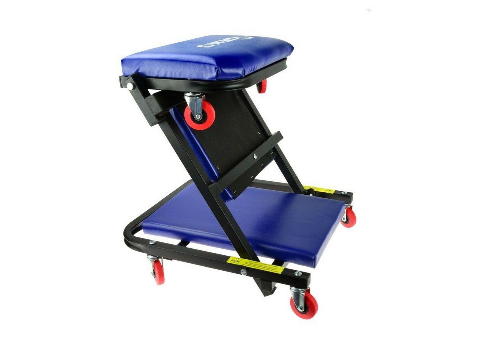 GEKO G02098 Lehátko / sedačka skládací, pojízdné, 2v1