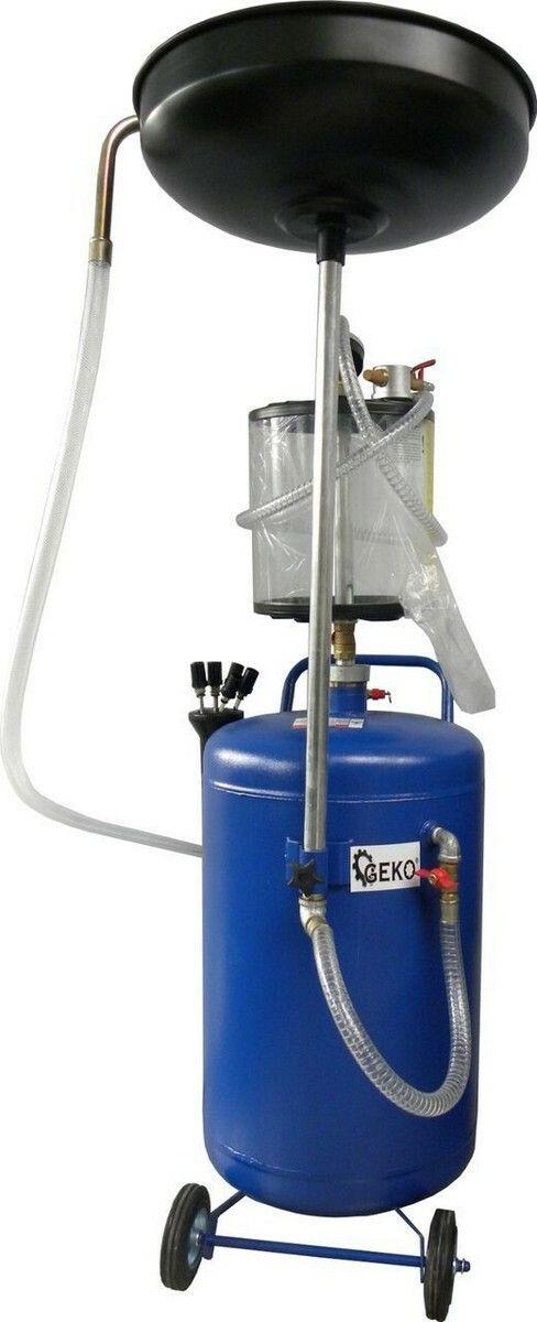Olejová jímka s odsáváním, 8-10bar, nárž 80l, 2 krabice, GEKO