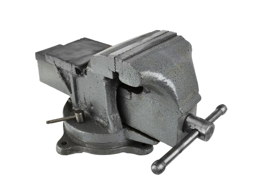 Svěrák otočný s kovadlinou, 125mm/5