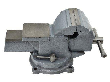 "Svěrák otočný s kovadlinou, 150mm/6"", 24kg, GEKO"