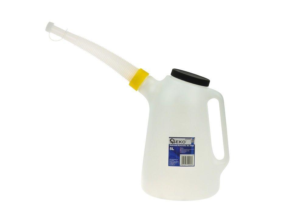 Nádoba na olej 5 litrů GEKO