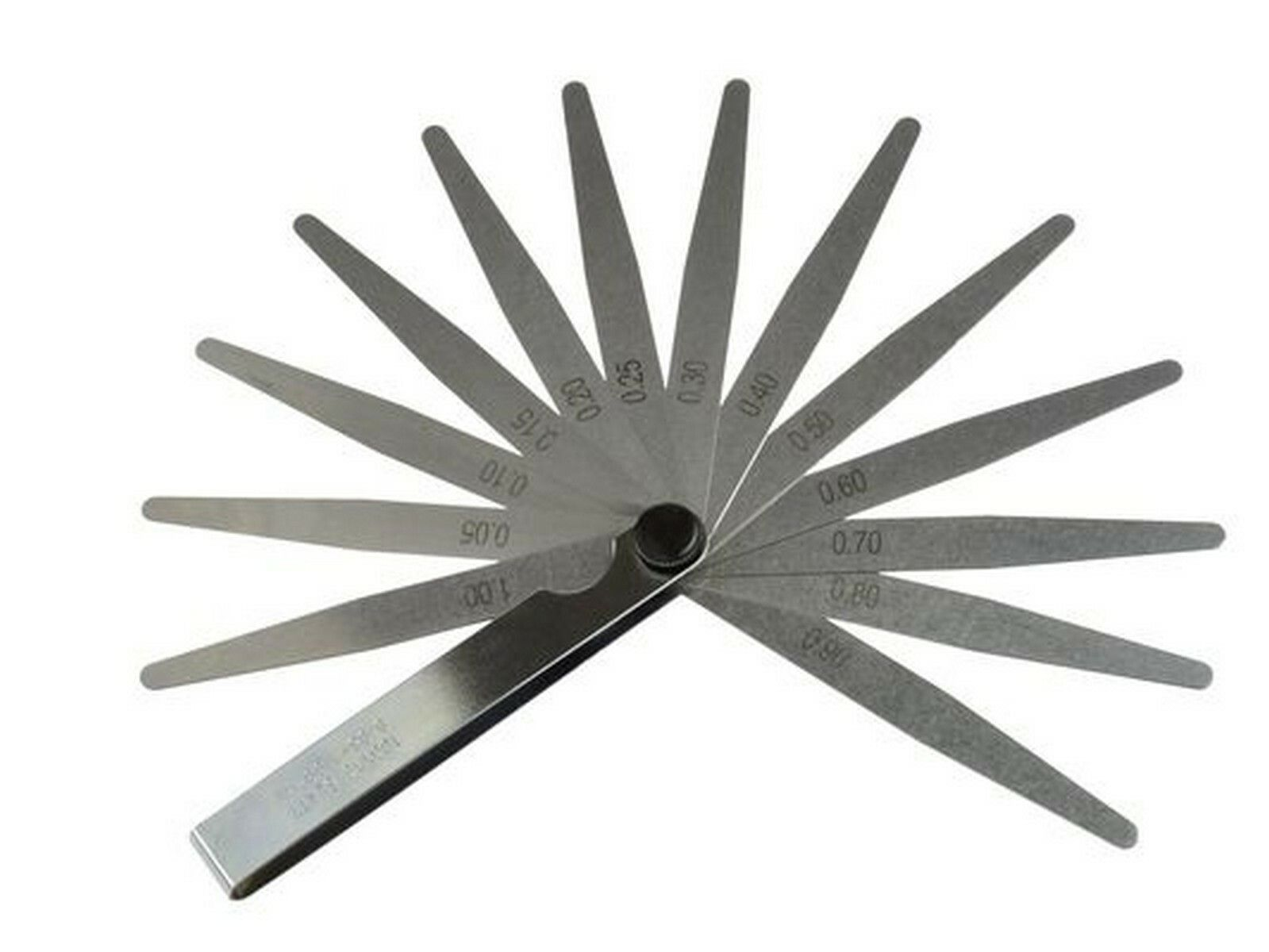Měrky spárové, 13ks, 0,05-1mm GEKO