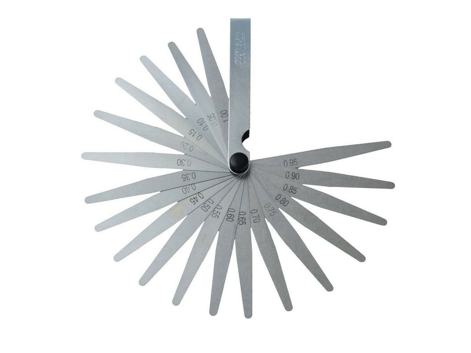 Měrky spárové, 20ks, 0,05-1mm GEKO