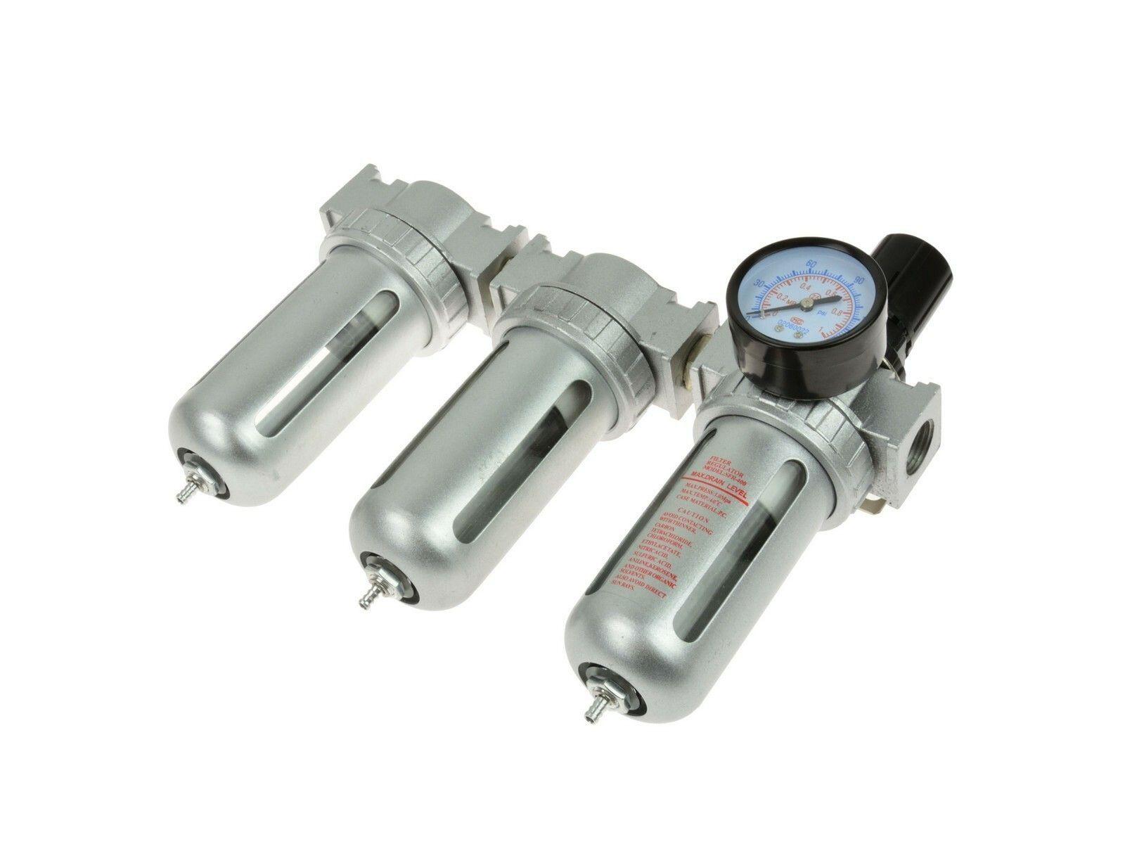 Regulátor tlaku s filtrem a manometrem, max. prac. tlak 1,0MPa GEKO