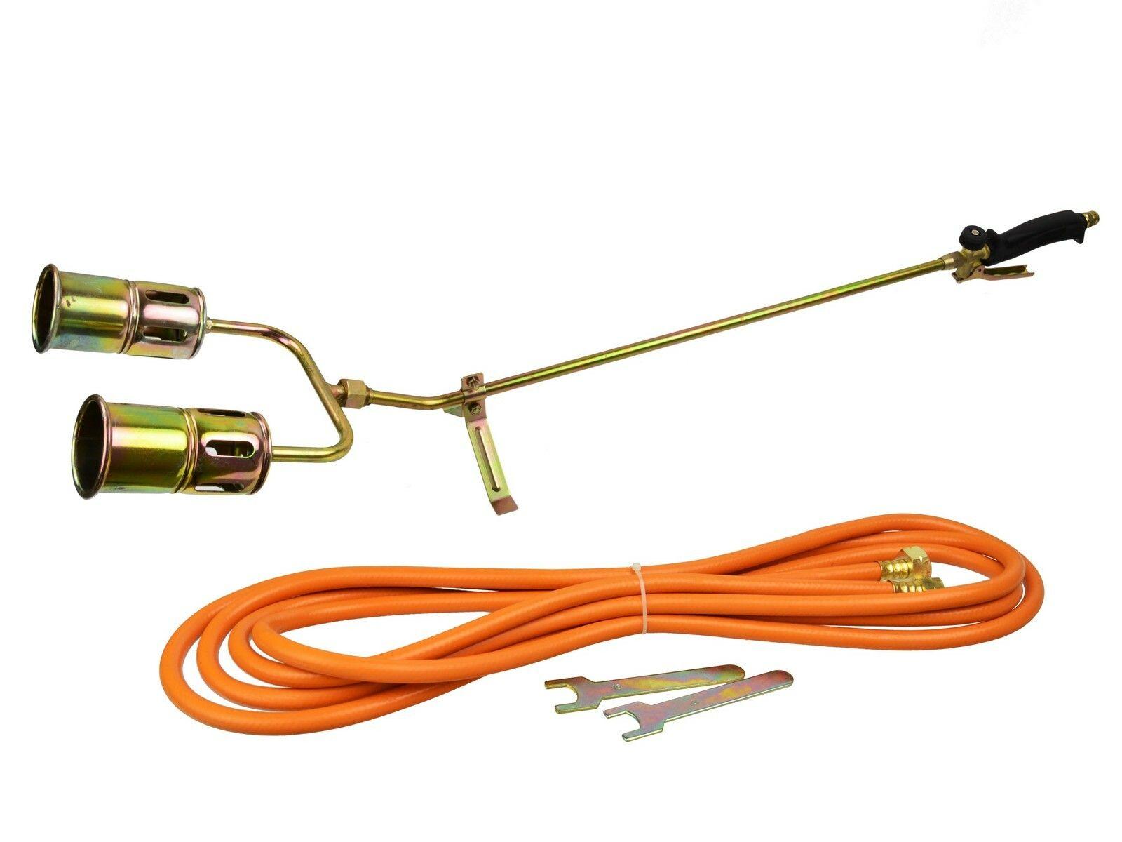 Plynový hořák MAX-2 (850mm), 5m hadice GEKO