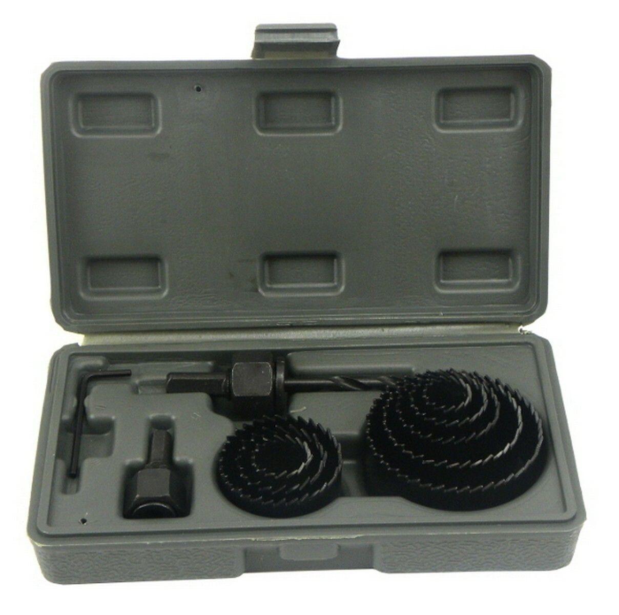 GEKO G30001 Vrtáky vykružovací korunkové, sada 11ks, 19-64mm