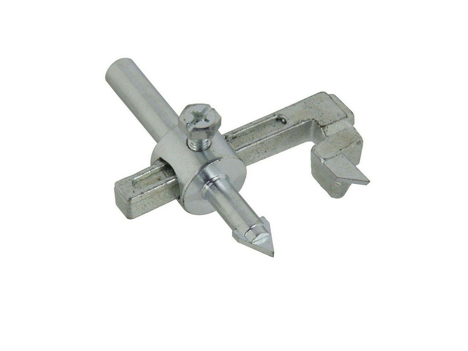 Řezač otvorů do kachliček, O 20-90mm, uchycení do vrtačky GEKO