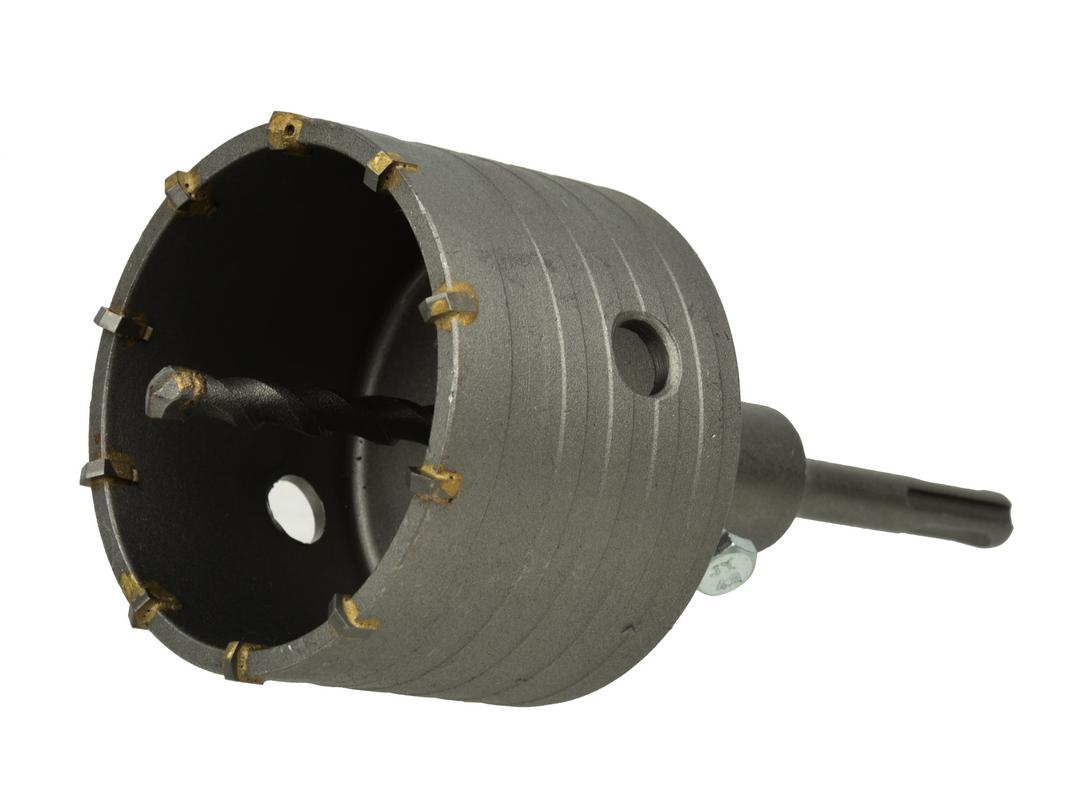 Vrták vykružovací 80mm SDS Plus, GEKO