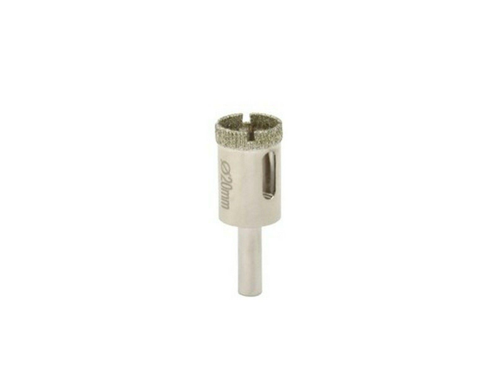 Vrták diamantový korunkový, 20 mm GEKO