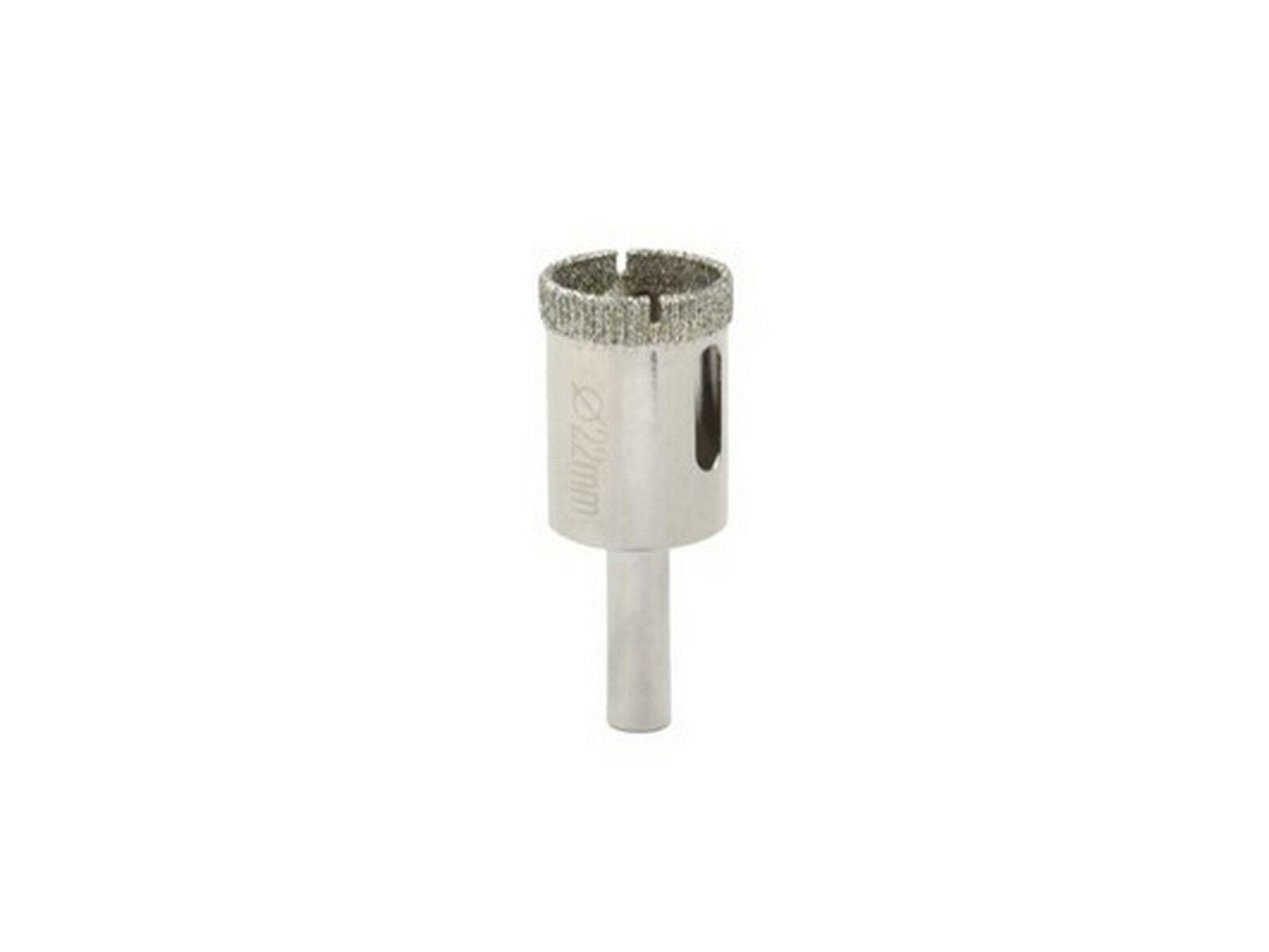 Vrták diamantový korunkový, 22 mm GEKO