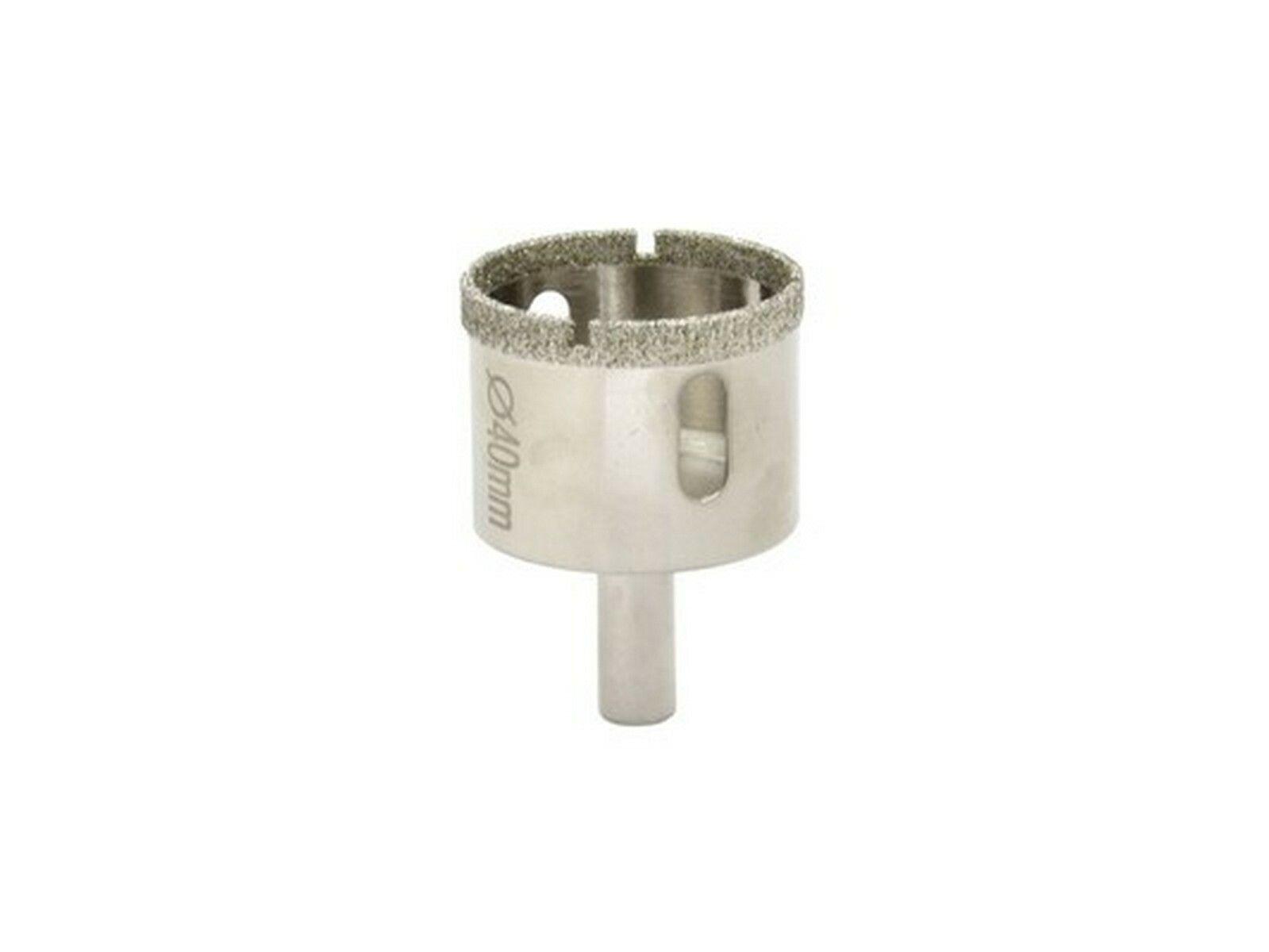 Vrták diamantový korunkový, 40 mm GEKO