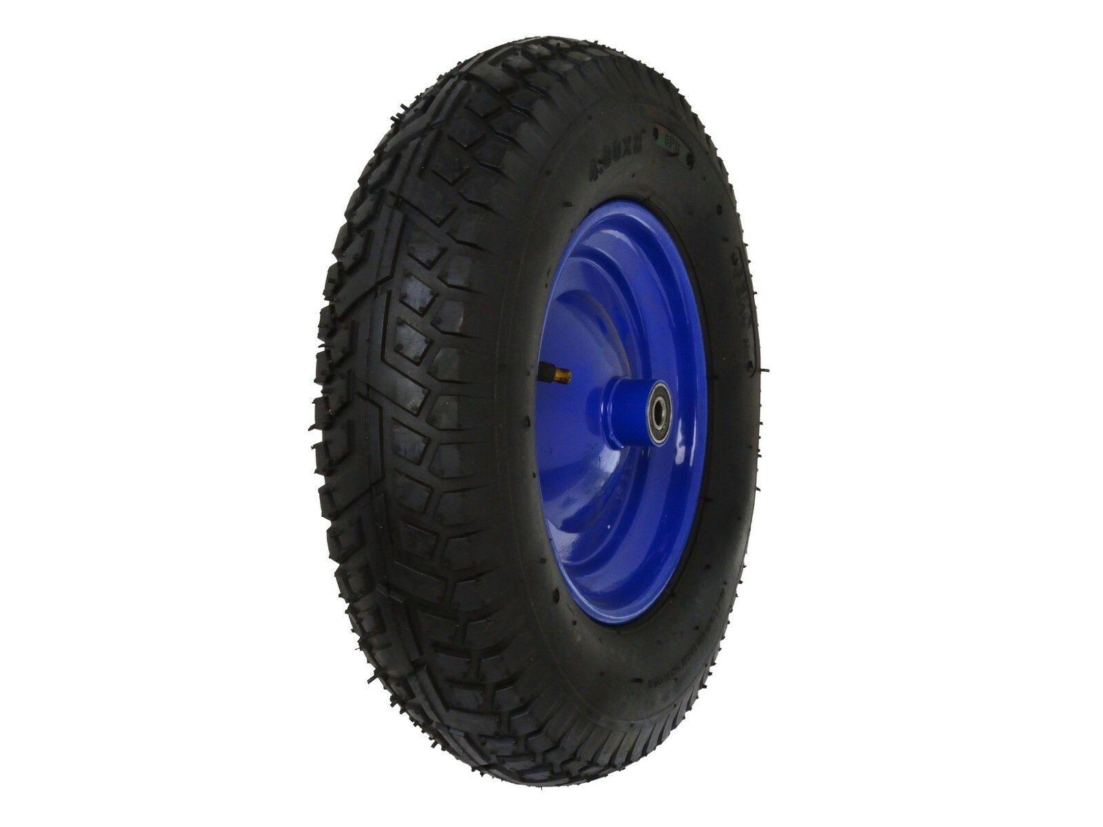 Gumové kolo do vozíku modré, 390x85 mm GEKO
