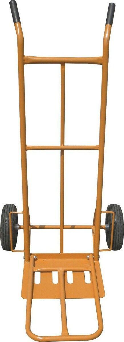 GEKO G71102 Ruční vozík-rudl, nosnost 250kg 400x300mm, oranžový