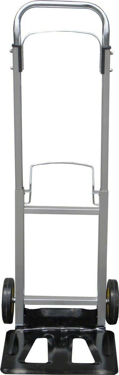 Ruční vozík-rudl. nosnost 90kg 355x240mm. hliníkový skládací GEKO