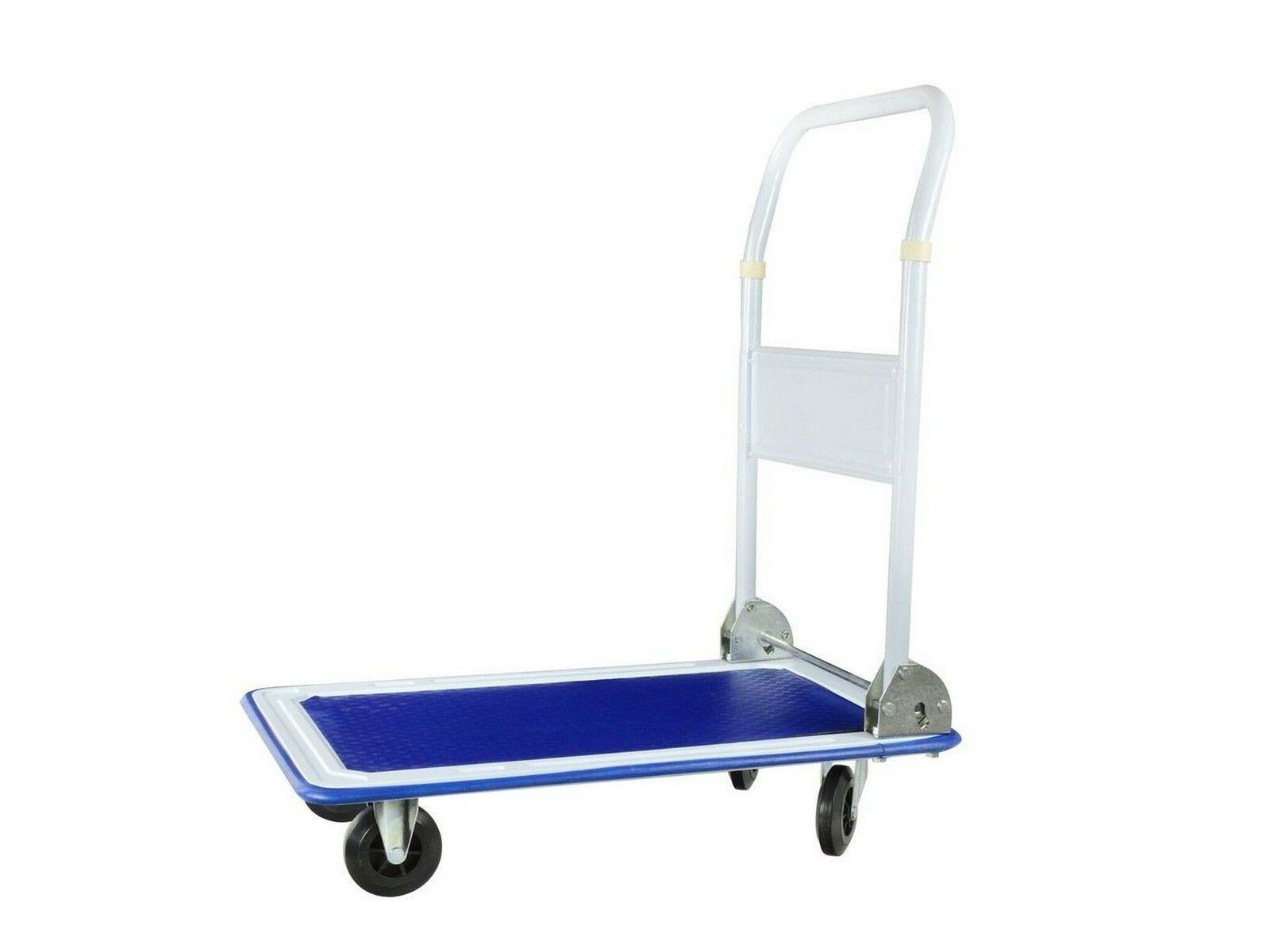 Fotografie Ruční vozík, nosnost 150 kg, sklopná rukojeť, GEKO