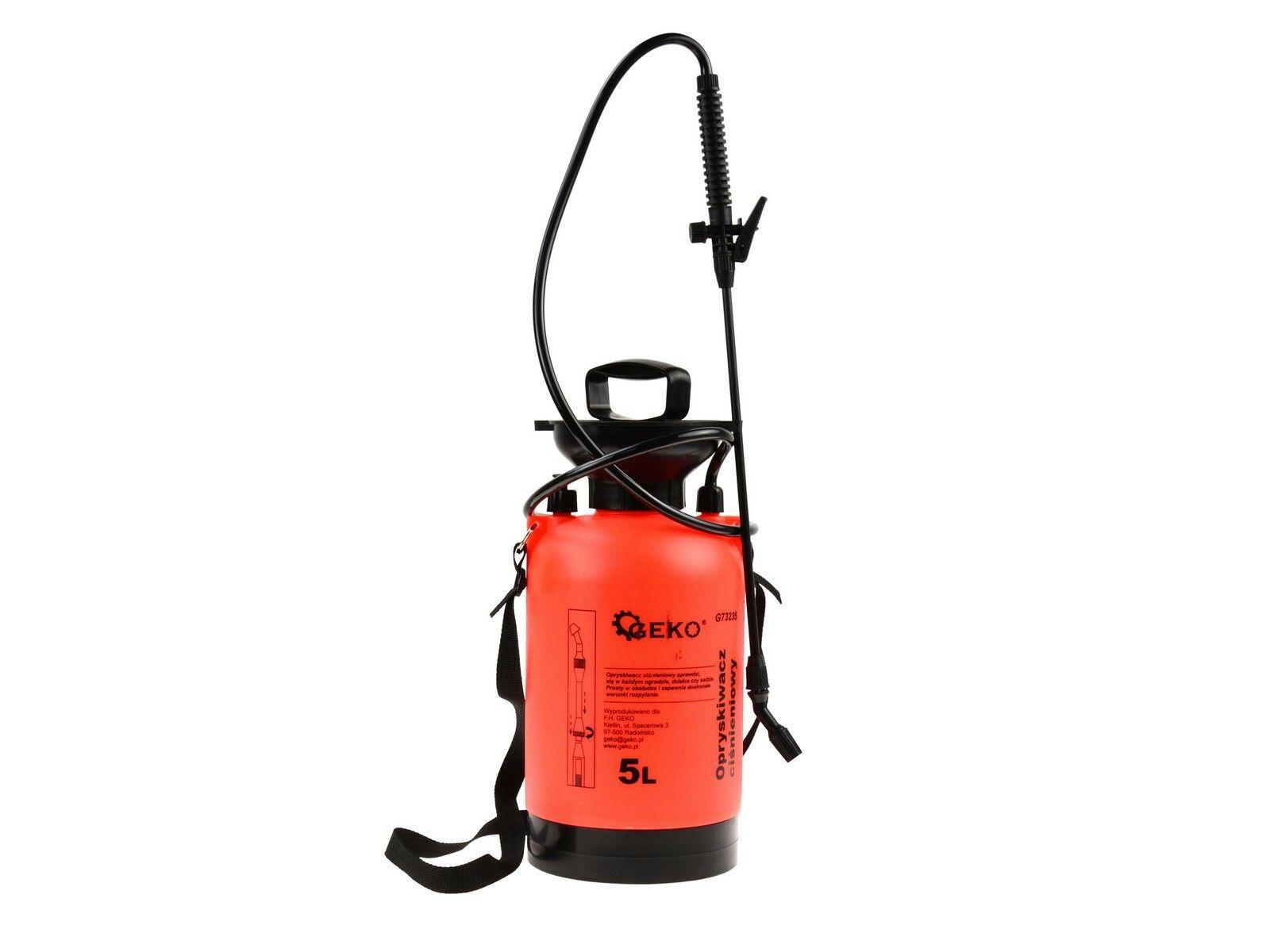 GEKO G73235 Postřikovač tlakový zahradní, 5l