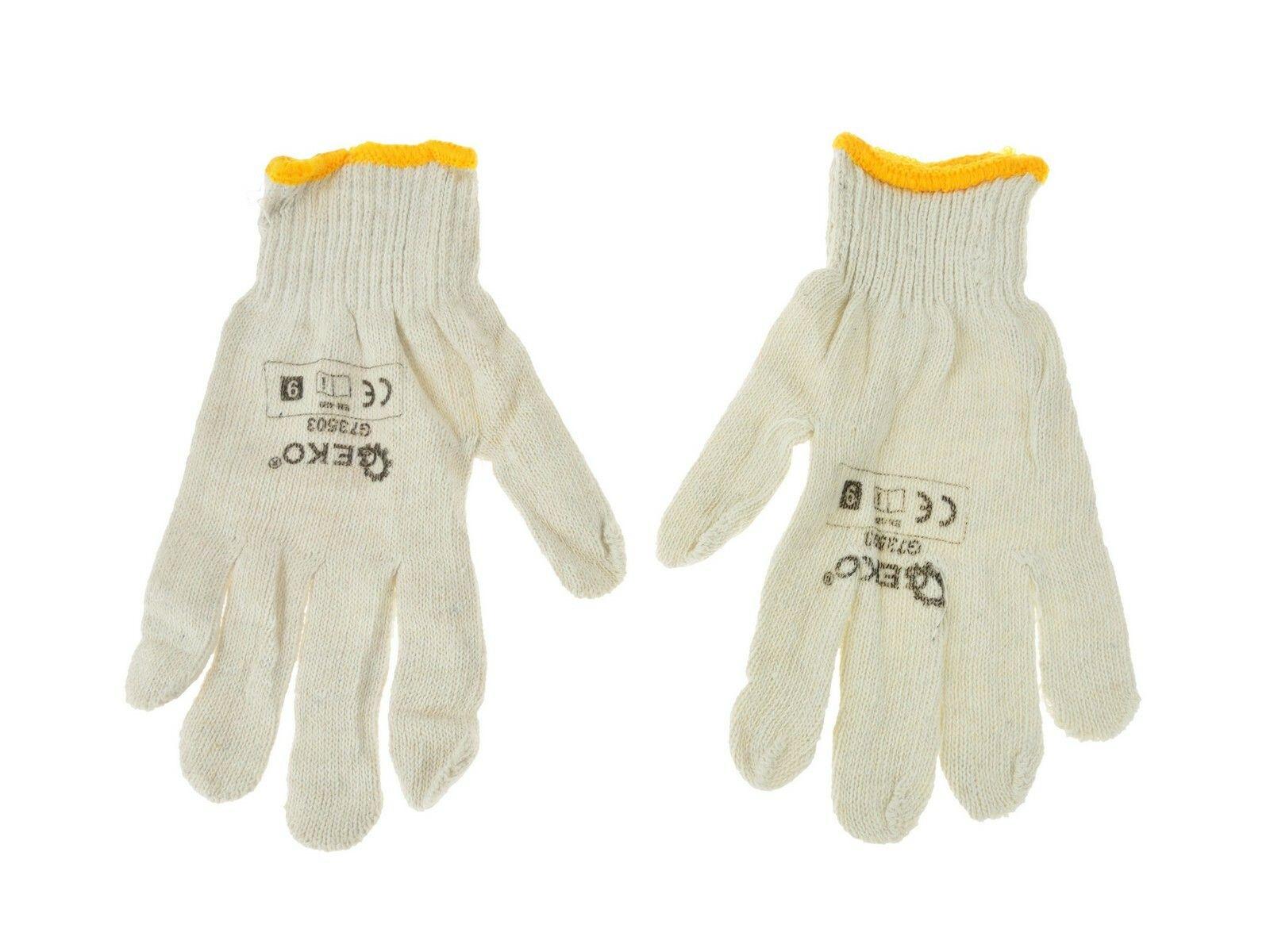 Pletené pracovní rukavice GEKO
