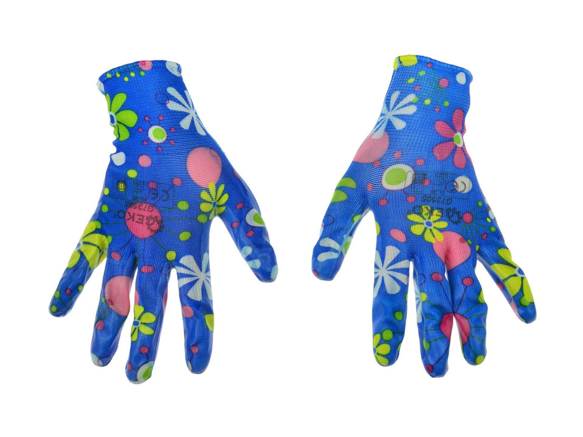 Dámské zahradní pracovní rukavice, velikost 8 GEKO