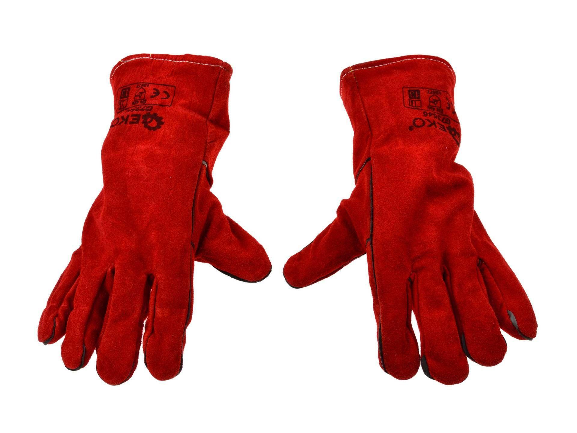 Kožené svářečské rukavice GEKO
