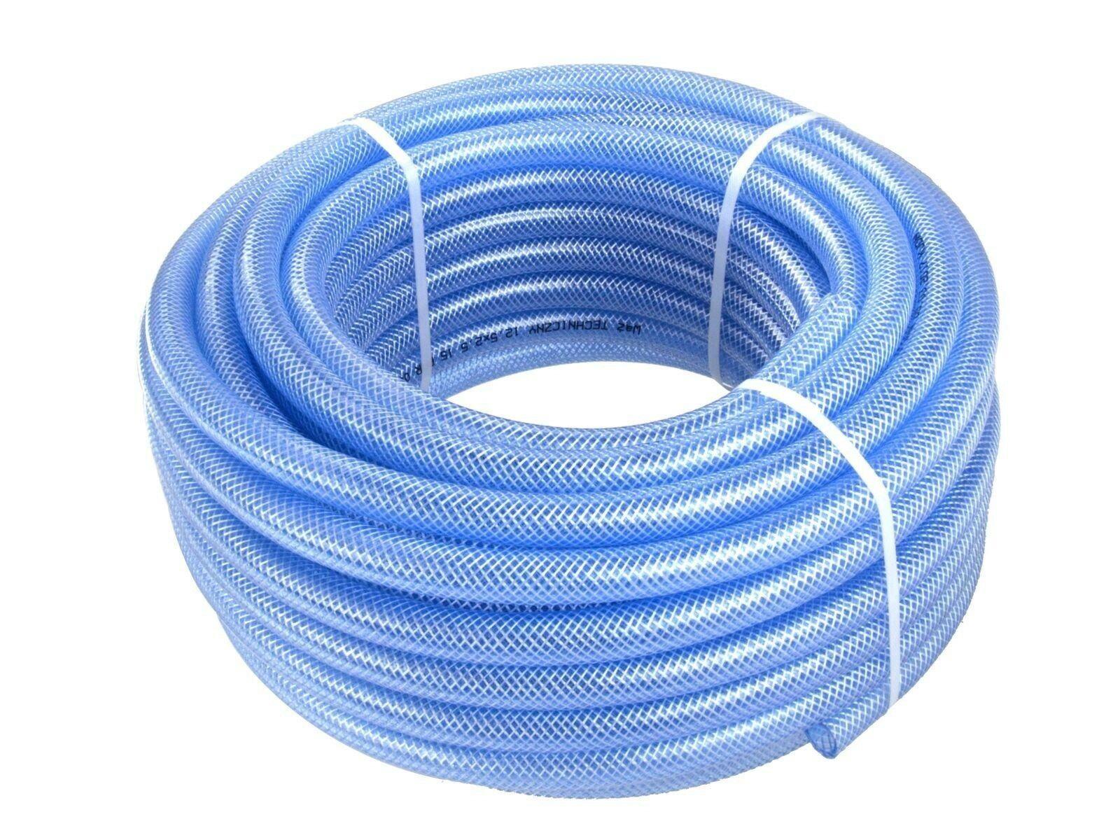 Hadice zesílená modrá, 6x2,5 mm, 50 m GEKO