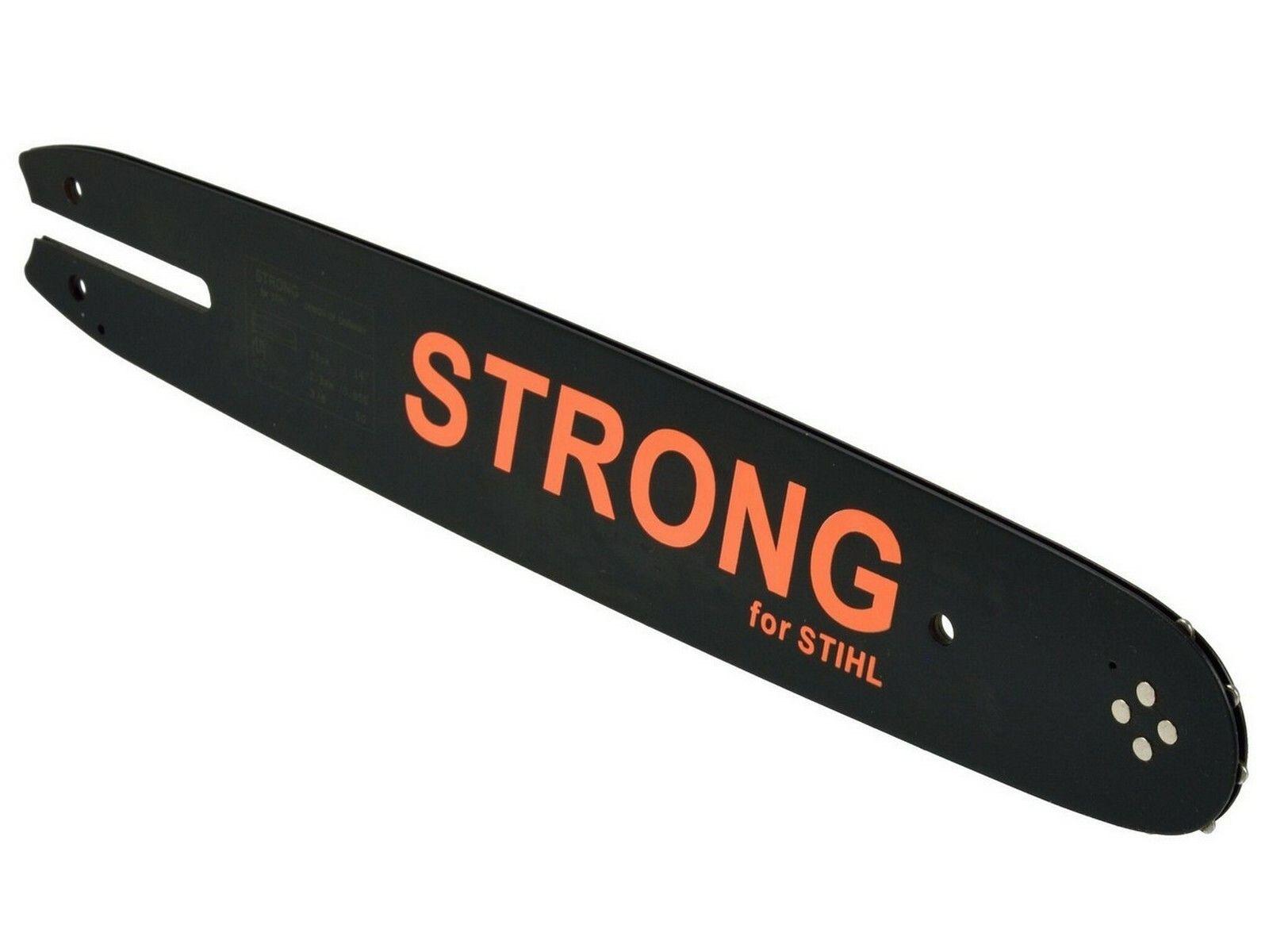 Lišta na řetěz, délka 350mm, 3/8, kompatibilní s pilou Stihl 05050, GEKO G74003